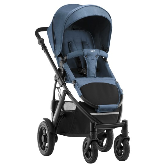 Britax Britax Smile 2 Barnvagn Blue Denim Blue Denim