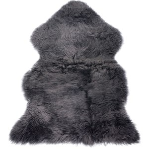 Image of BOZZ Long-haired Lambskin Grey One Size (953925)