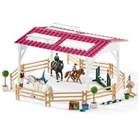 Schleich Riding school with riders and horses Unisex
