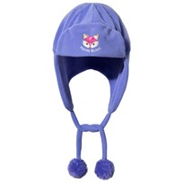 Poivre Blanc Purple Fox Embroidered Infants Hat ARTIC PURPLE 2106