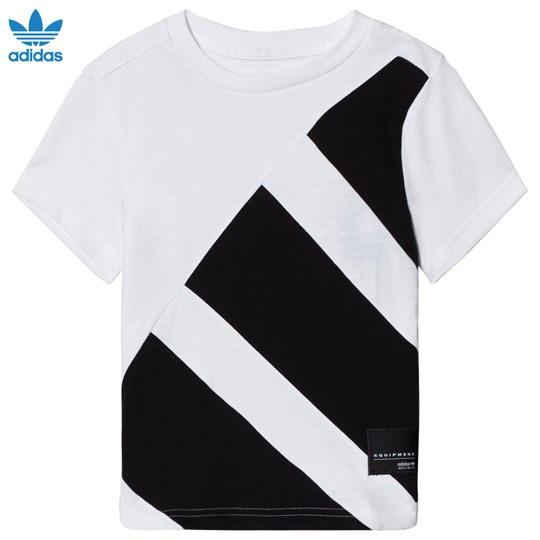 adidas Originals White Branded Equipment T-Shirt White