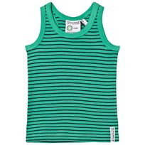Geggamoja Tank Top Green and Navy Grøn