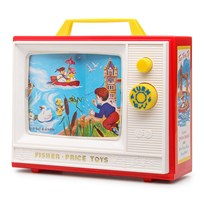 Fisher Price Retro Two Tune TV Multi