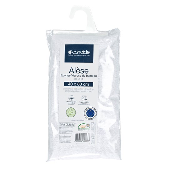 Candide 40x80 Candide Mattress Protection White