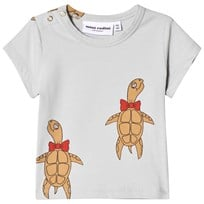 Mini Rodini Turtle T-shirt Grå Grey
