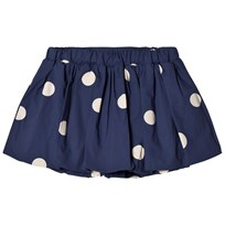 Mini Rodini Dot Woven Skirt Navy Navy