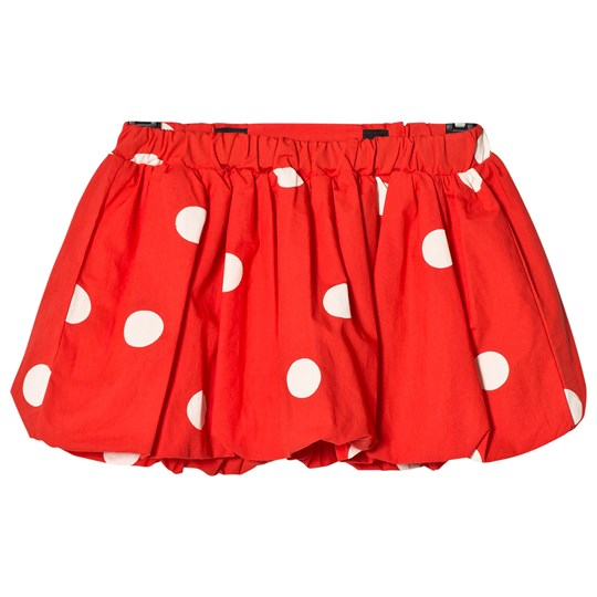 Mini Rodini Dot Woven Skirt Red Red