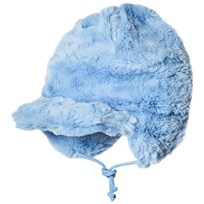 Mini Rodini Faux Fur Cap Light Blue Blue