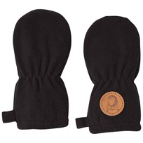 Mini Rodini Fleece Baby Mittens Black Black