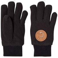 Mini Rodini Fleece Glove Black Black