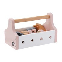 Kids Concept Tool Box Star Pink Pink