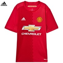 Manchester United Man United FC Home Jersey Top REAL RED S10/POWER RED/WHITE