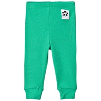 Mini Rodini Rib Leggings Grön Green