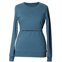 Boob B·Warmer Sweatshirt Blue Lake Blue