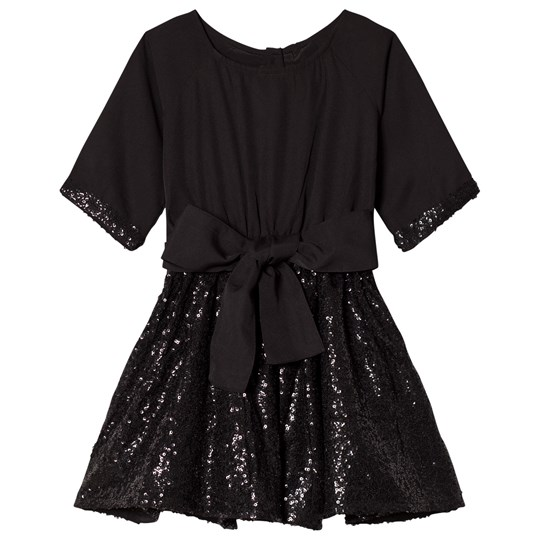 How To Kiss A Frog SIONA DRESS Black sequins Black sequins
