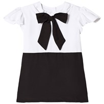 How To Kiss A Frog Lauren dress Black/white Musta