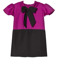How To Kiss A Frog Lauren dress Cerise/black Cerise/Black