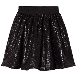 How To Kiss A Frog Wind skirt Black sequins
