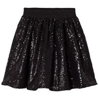 How To Kiss A Frog Wind Skirt Black Sequins Black sequins