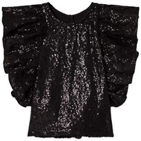 How To Kiss A Frog Bling Top Black sequins Black sequins