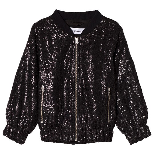 How To Kiss A Frog Sparkle Jacket Black sequins Black sequins