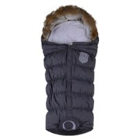 Easygrow Flex Extendable Footmuff Grey Melange Multi