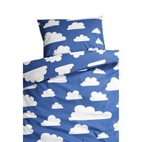 Färg & Form Cloud Bed Set Blue Blue