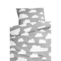 Färg & Form Cloud Bed Set Grey Black