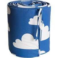 Färg & Form Cloud Crib Bumper Blue Blue