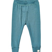 Celavi Long john -solid wool Wonder wollies - Goblin Blue Goblin Blue