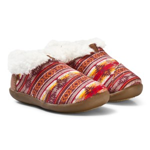 Image of Toms Brown Twill Sunset Slippers 21 EU (2814966369)