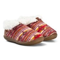 Toms Brown Twill Sunset Slippers BROWN
