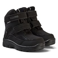 Kuling Waterproof Winterboots Softshell Black/Grey Black