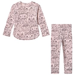 Soft Gallery Elliot Pajamas Coral Owl
