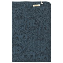 Soft Gallery Blanky Orion blue, AOP Owl Orion blue, AOP Owl