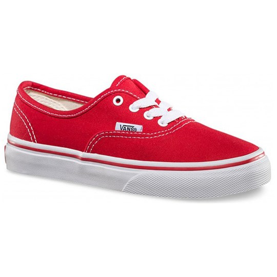 Vans Red & White Sneakers Red