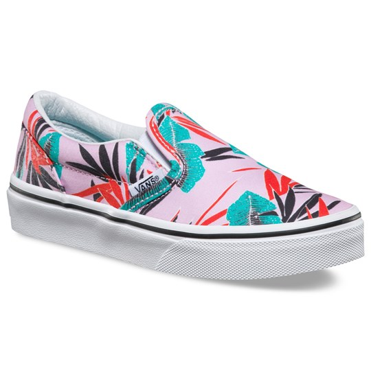 Vans Sneakers, Classic, Tropical Leaves, Pink Lady Pink