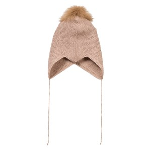 Image of Huttelihut Baby Hat Dusty Rose 3-6 mdr (3065504499)
