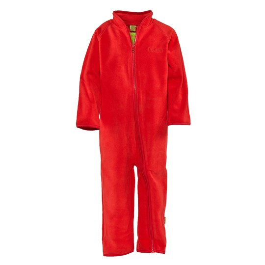 Celavi Fleece Suit  Red