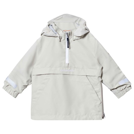 Didriksons Sälen Kids Anorak Light Khaki Light khak