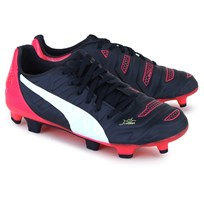 Puma Evopower 3.2 Firm Ground Match Boots Purple, White and Pink