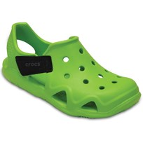Crocs Tofflor, Shiftwater Wave, Volt Green Green
