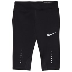 NIKE Power Epic Crop Running Leggings Svart