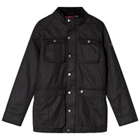 Tom Joule Black Faux Wax Jacket Black