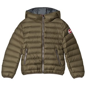 Image of colmar Khaki Empire Down Hooded Bomber Jacket 4 years (2994537863)