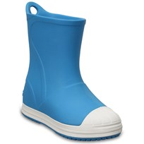 Crocs Bump It Boots,  Electric Blue/Oyster Black