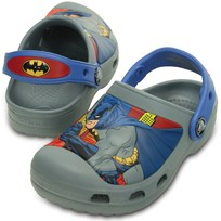 Crocs Tofflor, Batman, Concret Black