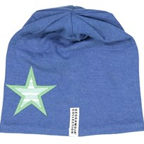 Geggamoja Star Fleece Beanie Marine Blue Navy