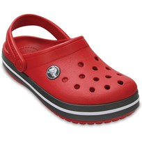 Crocs Crocss, Tofflor, Kids, Crocsband, Pepper/Graphite Red