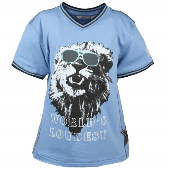 Mexx Kids Boys T-shirt Lejon Blue Blue